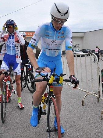 ČLEN novojičínské cyklistické stáje Ondřej Fierla předvedl na Slovensku vynikající časovku, ve které bral 5.místo.