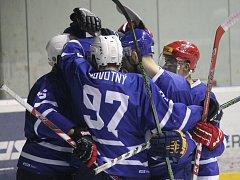 II. hokejová liga, sk. Východ, 13. kolo: HK Nový Jičín – HK Opava 4:2 (0:0, 1:1, 3:1)