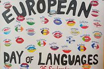 Evropský den jazyků 2021 – projektový den na ZŠ Tyršova.