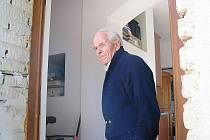Devadesátiletý Bedřich Konečný.
