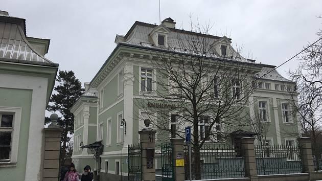 Novojičínská knihovna. Ilustrační foto.