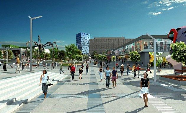 Centrum města Kopřivnice by do budoucna mělo projít kompletní úpravou.