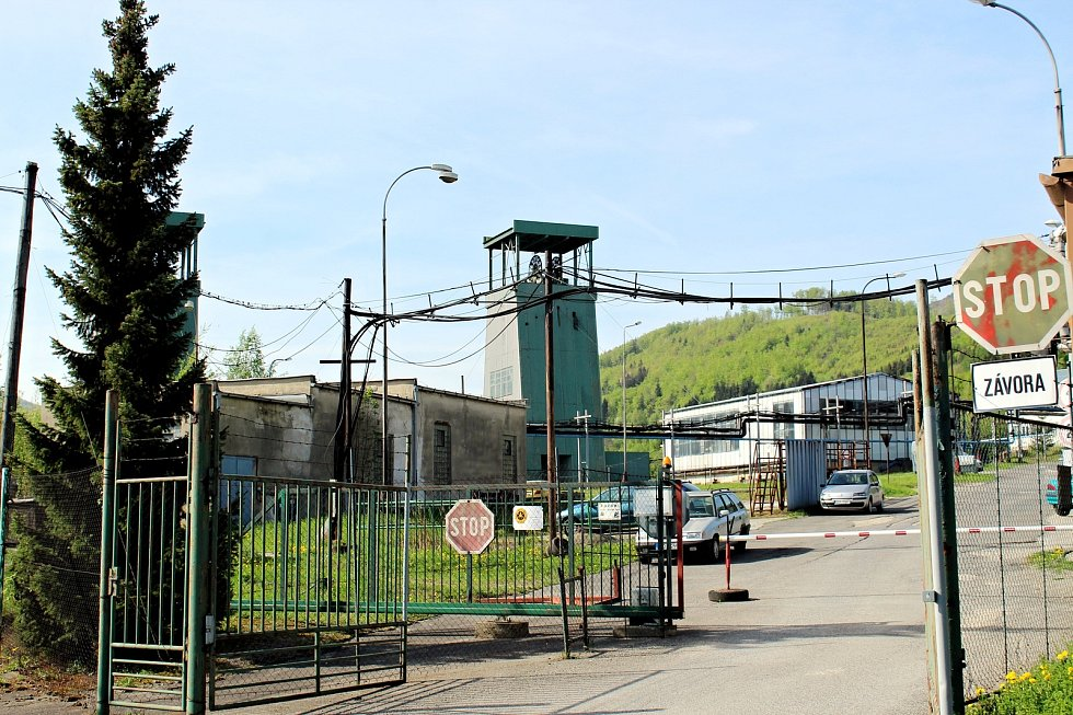 Důl Frenštát v Beskydech.