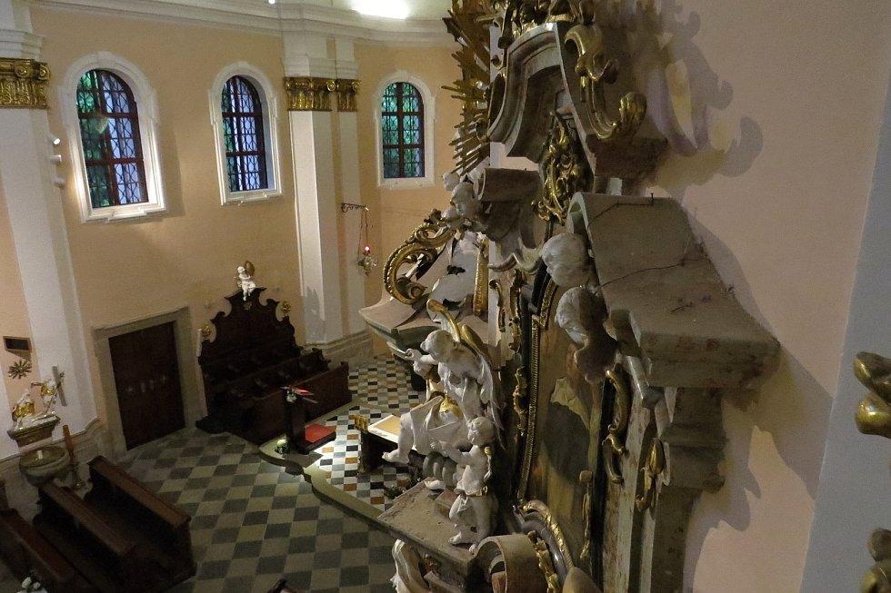 Fulnecký kostel Nejsvětější Trojice se otevřel široké veřejnosti v rámci Noci kostelů v pátek 28. května 2021 po rozsáhlé opravě.