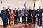 K setkání k pokračování spolupráce se sešli v pátek 29. března v Kopřivnici zástupci vedení měst Kopřivnice, Nový Jičín, Frenštát pod Radhoštěm a Příbora.