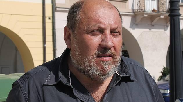 Arnošt Vašíček navštívil Nový Jičín.