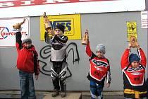 Pro vítěze kategorií byla připravena věcná cena za účast na AMK BMX Studénka 2007.