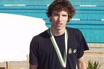 Tomáš Mixa z Laguny Nový Jičín vyplaval ve finále Světového poháru v Egyptě bronzovou medaili.