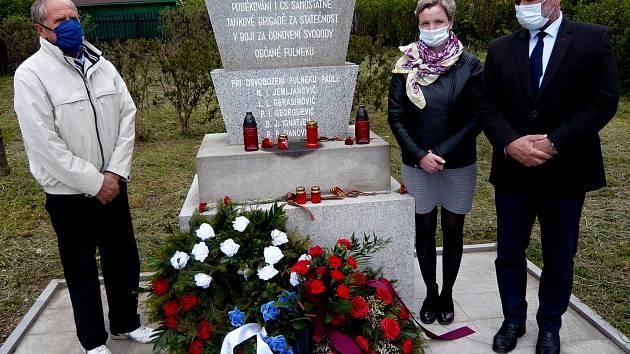 Připomenutí 75. výročí osvobození Fulnecka