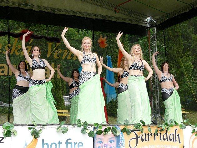 ORIENTÁLNÍ TANCE se v Kopřivnici těší velké oblibě. Návštěvnost festivalu Šostýnská Venuše to potvrzuje.