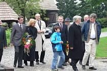 Ostatky Schustalovy vnučky uložili do rodinné hrobky.