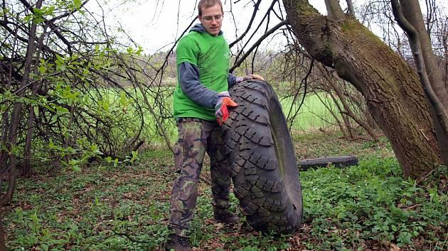 Jarní očista Palackého potka 2015.