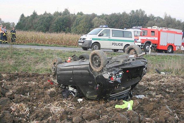 O velkém štěstí v něštěstí může hovořit jednapadesátiletý řidič, který v úterý 4. října krátce po páté hodině odpoledne havaroval ve Skotnici na Novojičínsku.