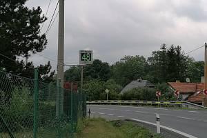 Měřiče rychlosti se nachází ve Frenštátě na hlavní silnici do Rožnova pod Radhoštěm.