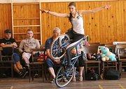Předposlední kolo Českého poháru v cyklistické krasojízdě pořádal oddíl sálové cyklistiky – krasojízdy TJ Petřvald na Moravě.
