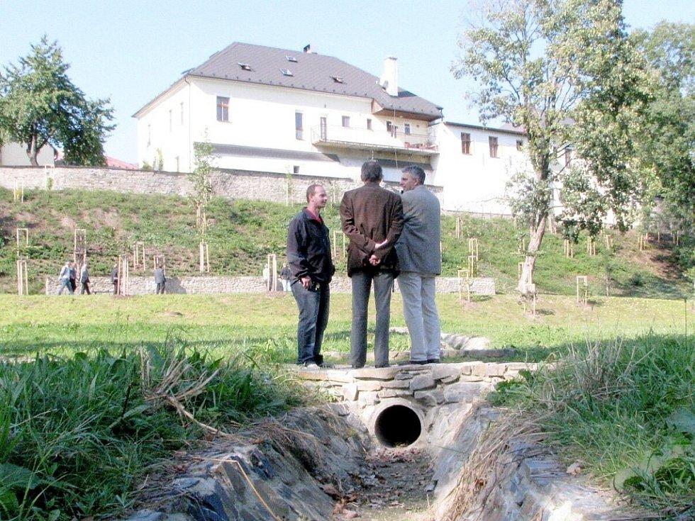 Park v Odrách. Ilustrační foto.