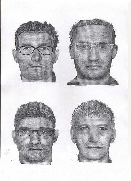 Portrét ozbrojeného pachatele znásilnění.
