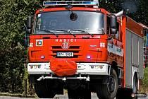 Tři jednotky hasičů se ve čtvrtek zapojily do taktického cvičení v Domově pro seniory Oasa v Petřvaldíku.