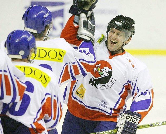 Zkušený hokejový obránce Petr Gulda.
