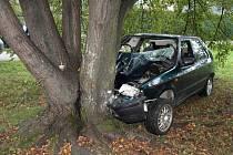 Nehoda ve Frenštátě pod Radhoštěm