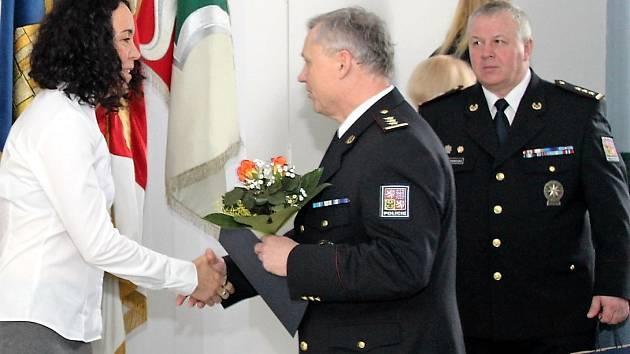 Slavnostní ceremoniál s oceňováním nejlepších policistů nechyběl v Novém Jičíně ani letos.