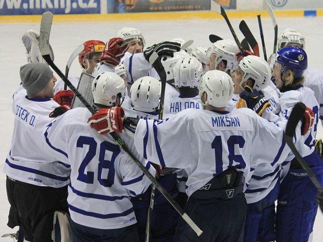 Novojičínští hokejisté. Ilustrační foto.
