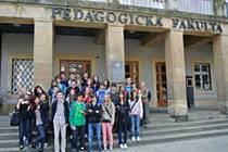 Studenti 2.G Gymnázia Nový Jičín navštívili olomouckou Univerzitu Palackého.