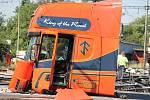 Tragická železniční nehoda pendolina ve Studénce 22. července 2015.
