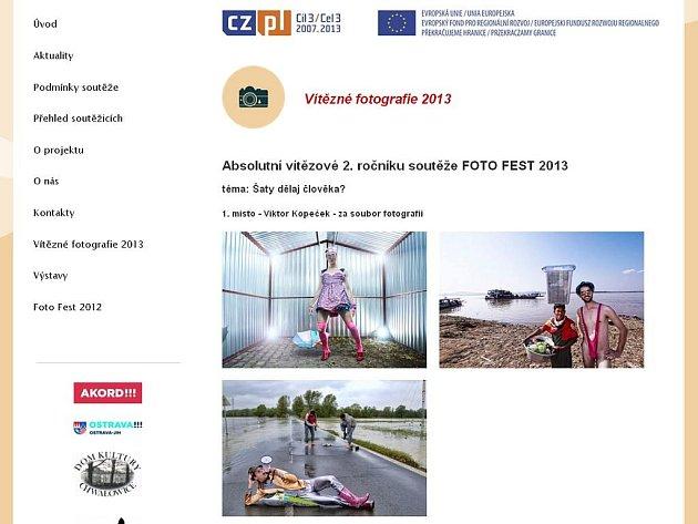 Webové stránky Foto Festu