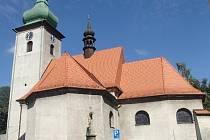 Kostel svatého Martina ve Frenštátě pod Radhoštěm by měl dostat novou fasádu.