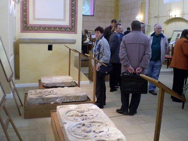 Kamenná výstava je unikátní a v historii moravského muzejnictví také nejtěžší.