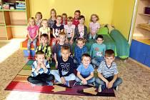 Žáci z třídy 1.B Základní a Mateřské školy Tyršova 913 ve Frenštátě pod Radhoštěm.