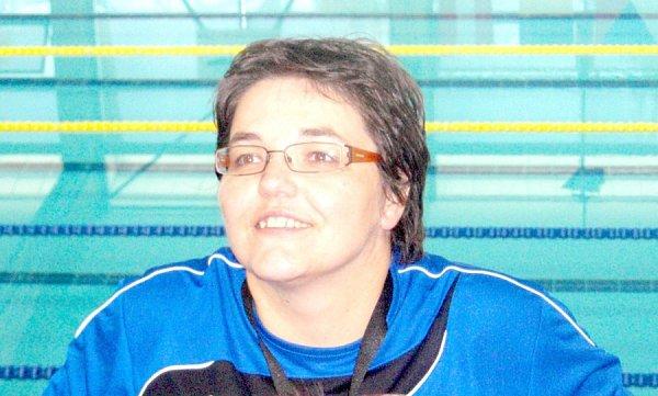 Trenérka veleúspěšných svěřenců novojičínské Laguny Simona Klapcová.