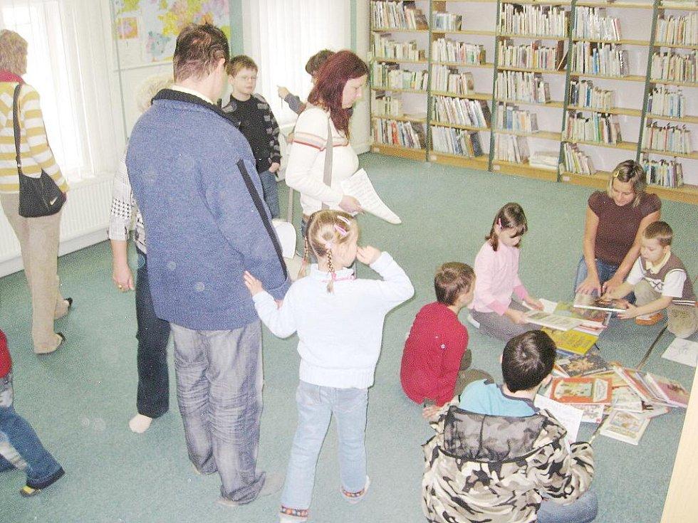 Novojičínská knihovna se již podruhé zapojila do celostátního projektu Den pro dětskou knihu.