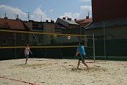 Hřiště a herní prvky jsou od pátku 15. června v areálu sportovní haly a koupaliště v Novém Jičíně.