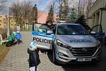 Čtení Policejních pohádek v pondělí 11. března v Mateřské škole Máj v Novém Jičíně.