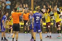 Kopřivnické házenkáře nyní čeká důležité domácí derby proti Hranicím, které vede někdejší kopřivnický trenér Libor Hrabal.