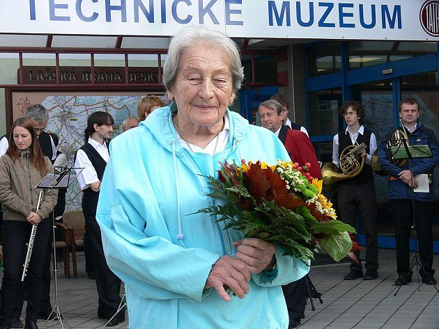 Dana Zátopková.