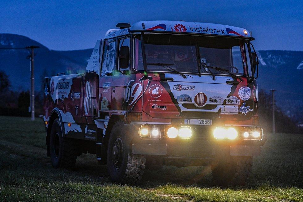 Úspěšný kamion Rallye Dakar Karla Lopraise jménem Puma 111 2.