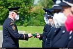 Po více než dvouleté odmlce, způsobené covidem, obdrželi ve čtvrtek 10. června 2021 medaile za věrnost, statečnost a obětavou činnost během covidového období také hasičky a hasiči zokresů Nový Jičín a Frýdek-Místek.