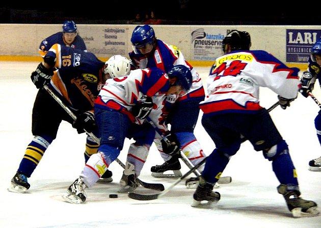 Hokejisté B týmu Nového Jičína podlehli Kopřivnici.