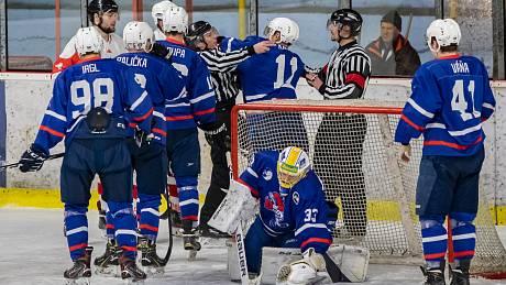 Hokejisté Nového Jičína i přes porážku podali sympatický výkon