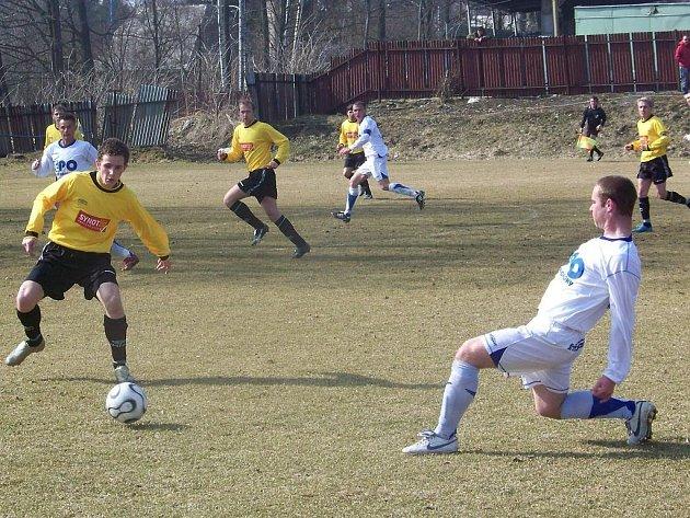 Fotbalisté divizního Frenštátu pod Radhoštěm nevstoupili do jarní části ideálně. V dohrávaném utkání z podzimu podlehli Rýmařovu 0:3.