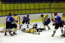 Hokejisté Studénky dokázali ve 2. zápase finále play-off krajské ligy porazit SK Karviná.