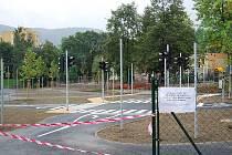 Nové dopravní hřiště v Kopřivnici.