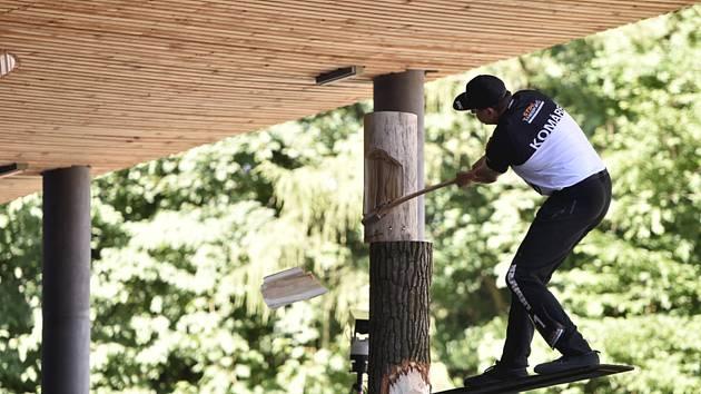Ve Frenštátě pod Radhoštěm se konalo mistrovství ČR dřevorubců