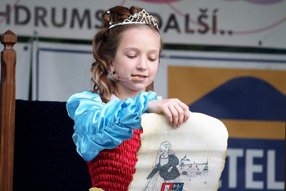 Korunovace princezny Terezky na Dni města Fulneku. Ilustrační foto.