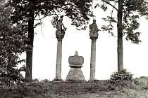 SOUSOŠÍ na okraji Nového Jičína bylo vystavěno počátkem osmnáctého století po skončení morové epidemie.