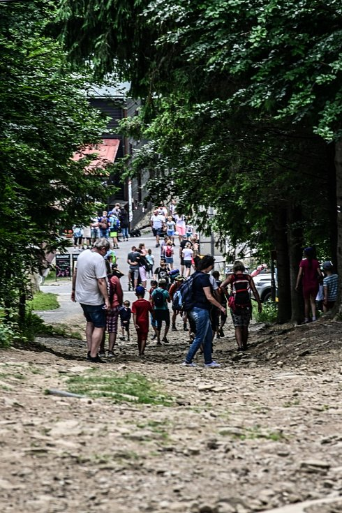 Cyrilometodějská pouť, Radhošť, Beskydy, 5. července 2021.