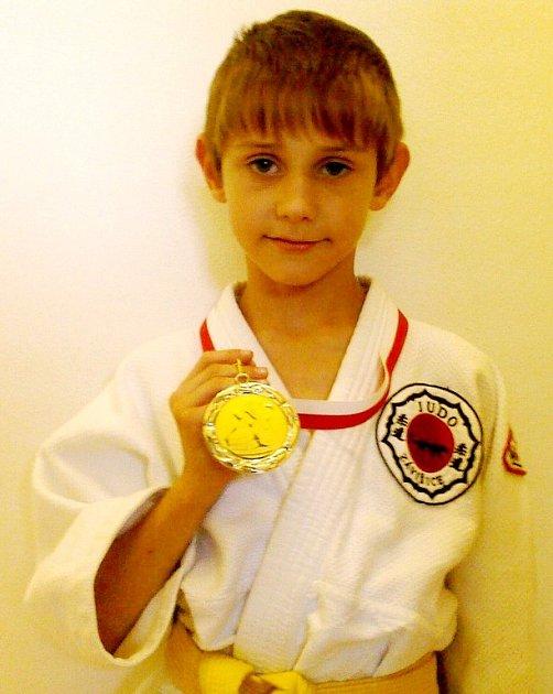 Radek Rýpar, stříbrný medailista z Vídně.